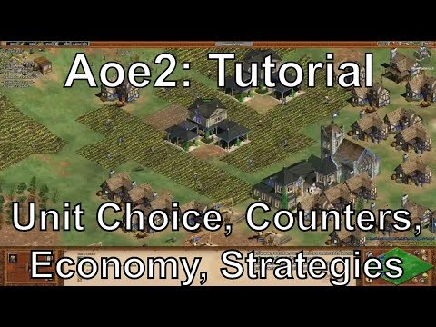 Aoe2 HD: Tutorial: Unit Choice, Counters, Economy Management