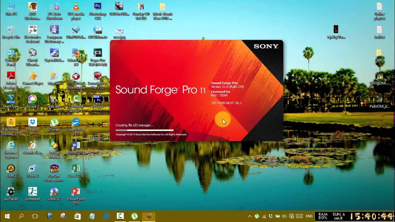 how to remove voice with sony sound forge pro 11 0 youtube. Black Bedroom Furniture Sets. Home Design Ideas