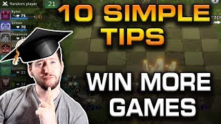 10 SIMPLE TIPS to help you GET BETTER at AUTO CHESS | Auto Chess Mobile