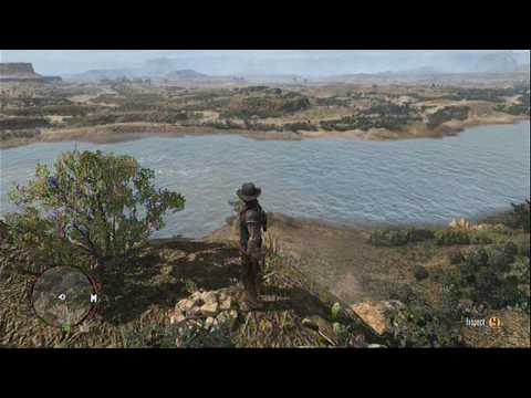 Red Dead Redemption : Treasure Map Location 2 (Del Lobo Rock)