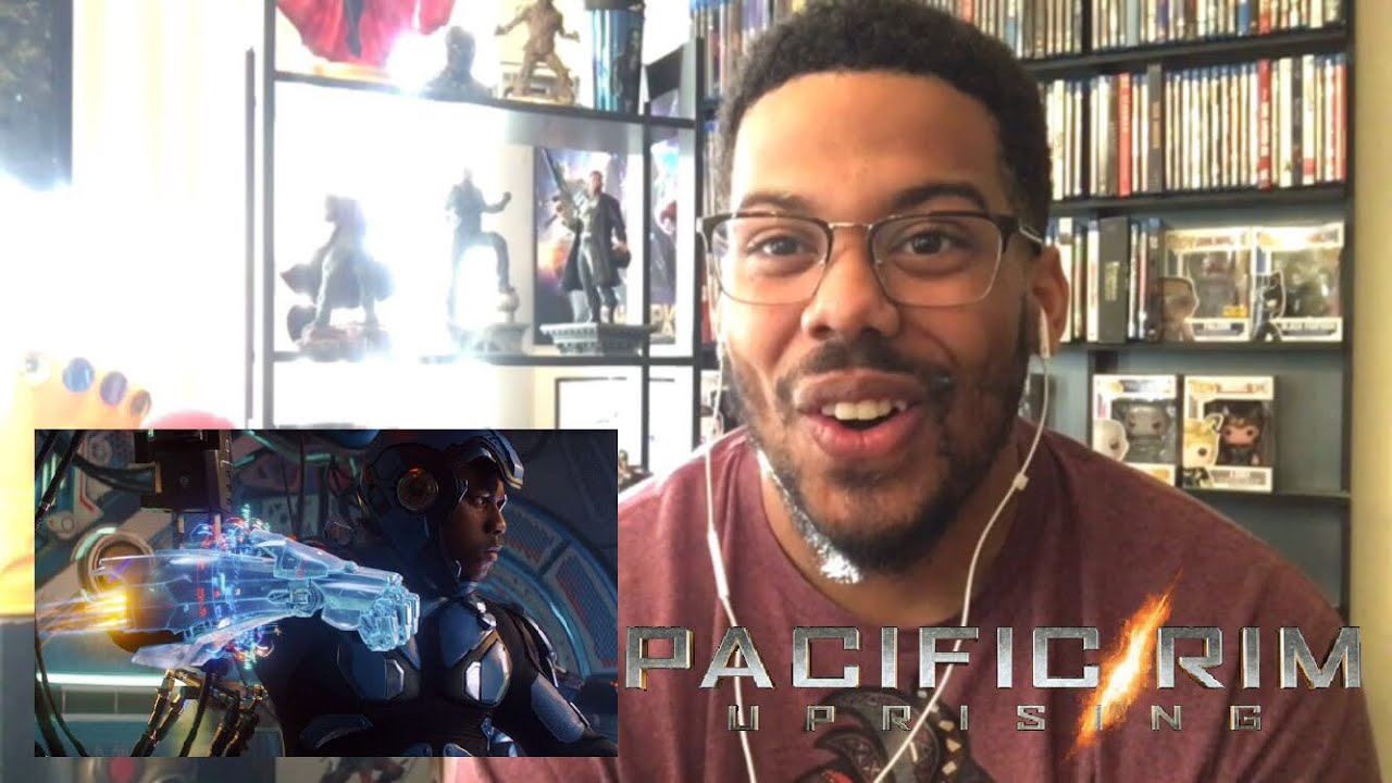 Pacific Rim Uprising- Official Trailer # 2 Reaction!