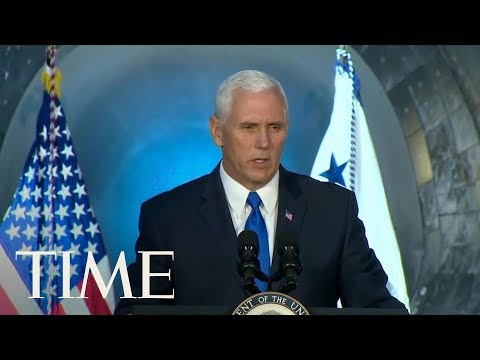 Vice President Pence Promises To Send Americans To The Moon, Mars And Beyond | TIME