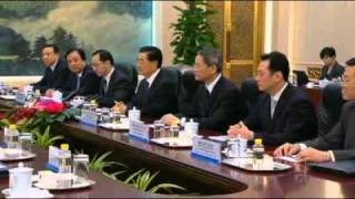 Gillard meets with China