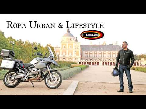 Ropa motorista Held Urban & Lifestyle: chaqueta Street Hawk, vaqueros Barrier, botines Pike