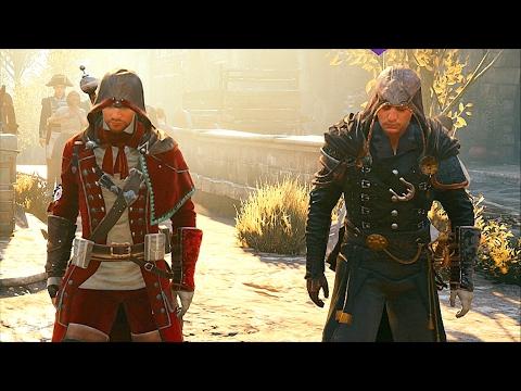 Assassin's Creed Unity Co-OP Fun ,  Free Roam & Combat Ultra Settings