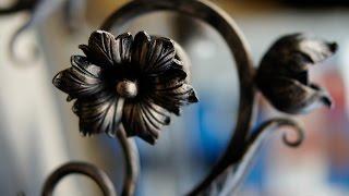 Ковка цветка  Вариант1