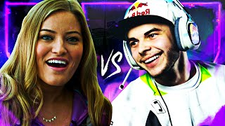 NADESHOT VS. iJUSTINE - 1V1 CALL OF DUTY (SNIPER VS. AR)