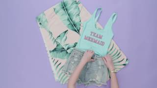 7 Mermaid Inspired Outfit Ideas | Style Lab