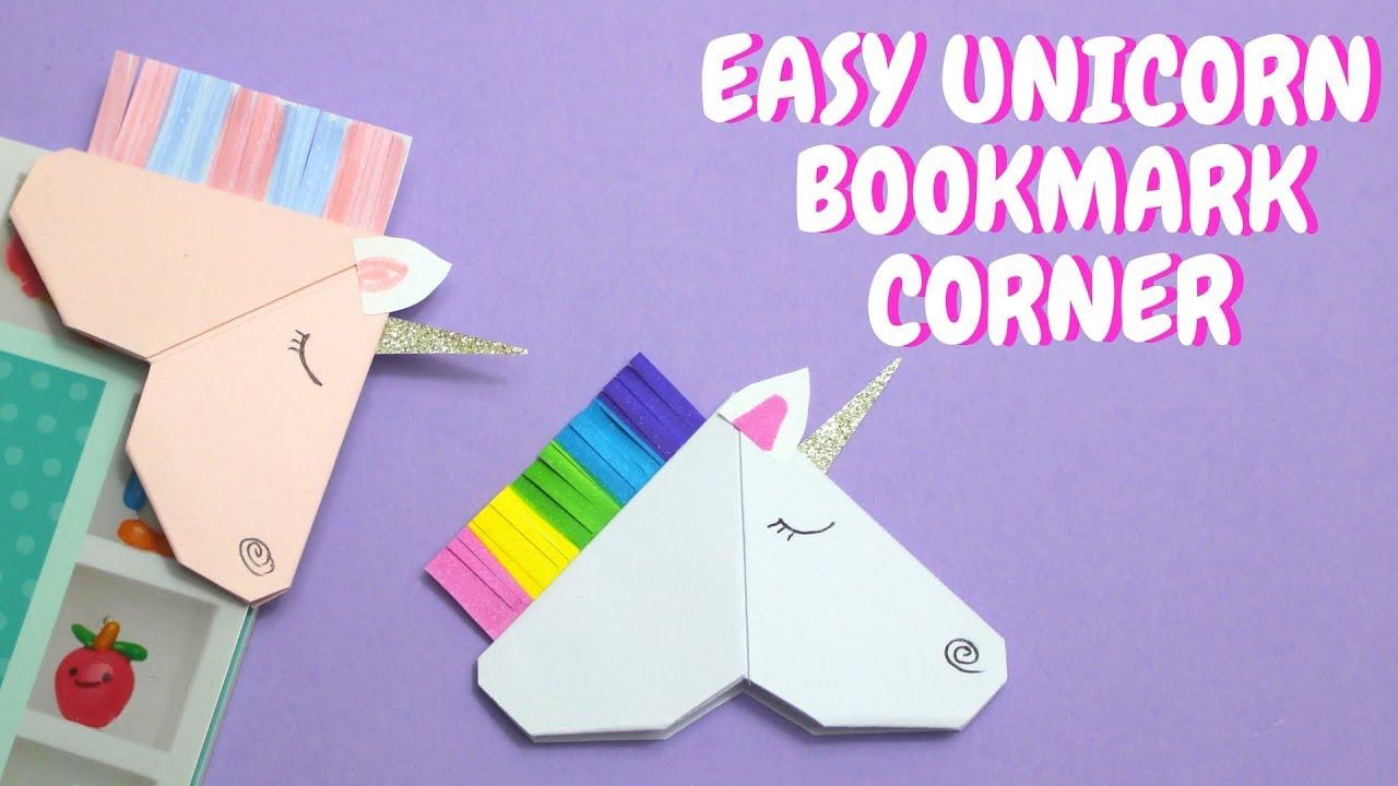 printable unicorn bookmarks # 78