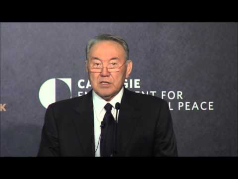 President Nazarbayev on Kazakhstan's Vision for a Secure Nuclear Future