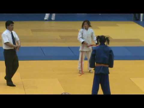 Judo Jalisco - Valeria Fuentes vs Elisa Rodriguez ...