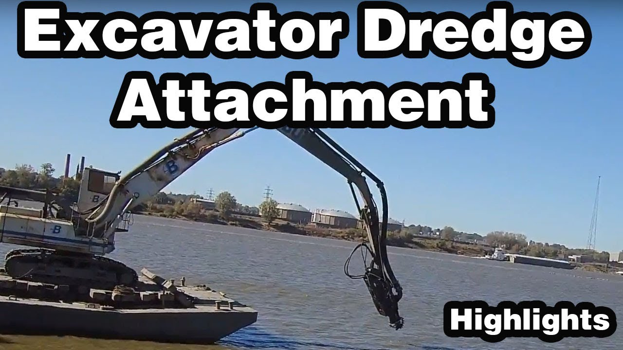 Excavator Dredge Pump Attachment Highlights - How It Works and Deployment  Options