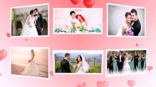 Шаблон № 12 (свадебный) / Создание слайд-шоу из Ваших фотографий