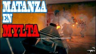 🏆 MATANZA EN MYLTA!! PLAYERUNKNOWN'S BATTLEGROUNDS (PUBG)