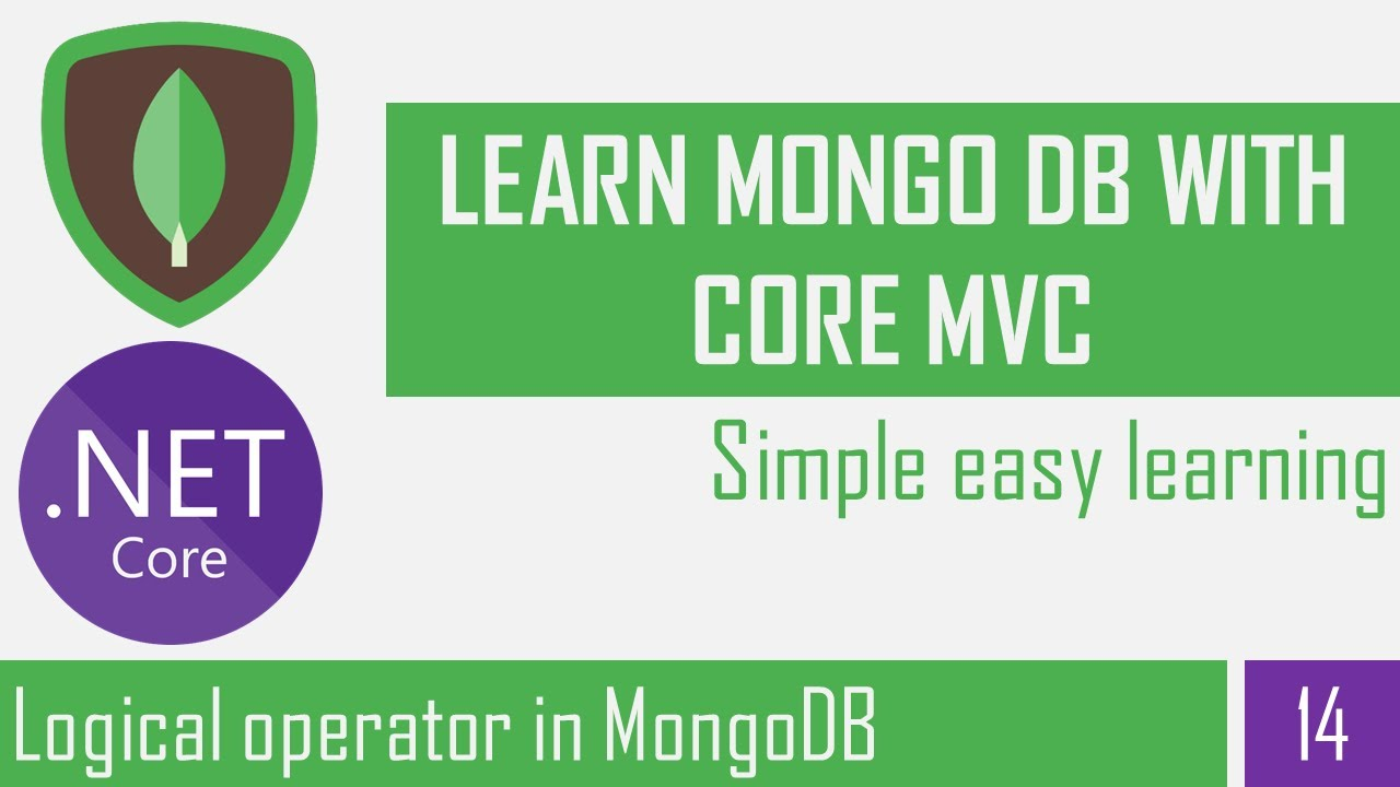 Logical operator in MongoDB | Filter & Search Documents |CRUD Operation | Asp.Net Core