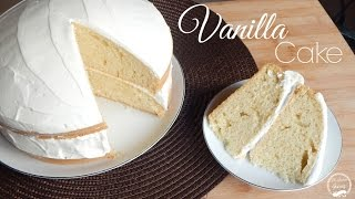 How to Make an Easy Vanilla Cake | Recipe | The Sweetest Journey
