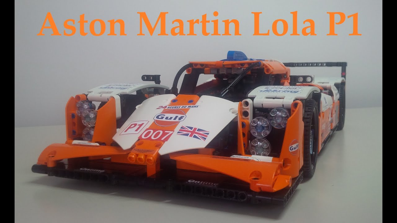 lego technic aston martin gulf lola p1 rc youtube. Black Bedroom Furniture Sets. Home Design Ideas