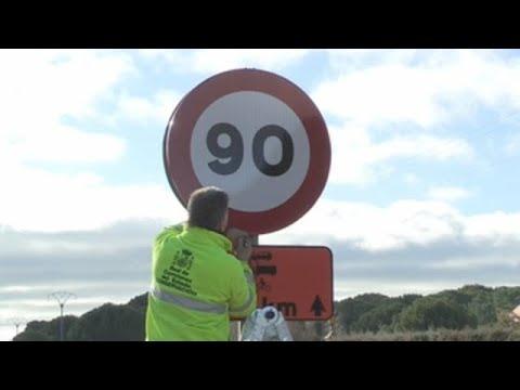¡Ojo al acelerador! Prohibido superar los 90 km/h en las secundarias