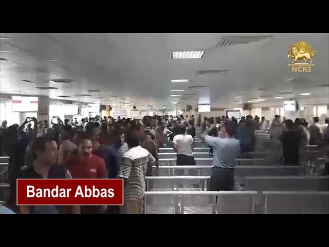 Bandar Abbas, Iran. May 22, 2018, The Nationwide Strike of Heavy Truck Drivers