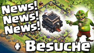 NEWS! NEWS! NEWS! + BESUCHE /// Let's Play /// Clash of Clans /// German/Deutsch HD