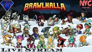 Brawlhalla Live Stream {Come One,Come All}  {PS4} Come Watch The Action
