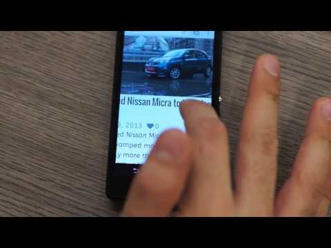 Sony Xperia ZR - Water Proof Dust Proof Unboxing and Hands on Review - iGyaan