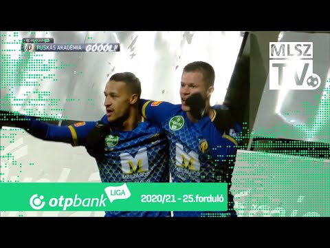 Puskas Academy Ujpest Goals And Highlights