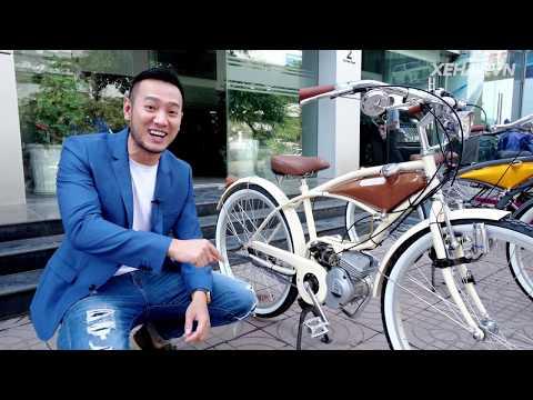 60 Triệu Cho Chiếc Xe đạp Gắn động Cơ 2 Thì Siêu Nhỏ Nhập Khẩu Nguyên Chiếc Nhật Bản  XEHAY.VN 