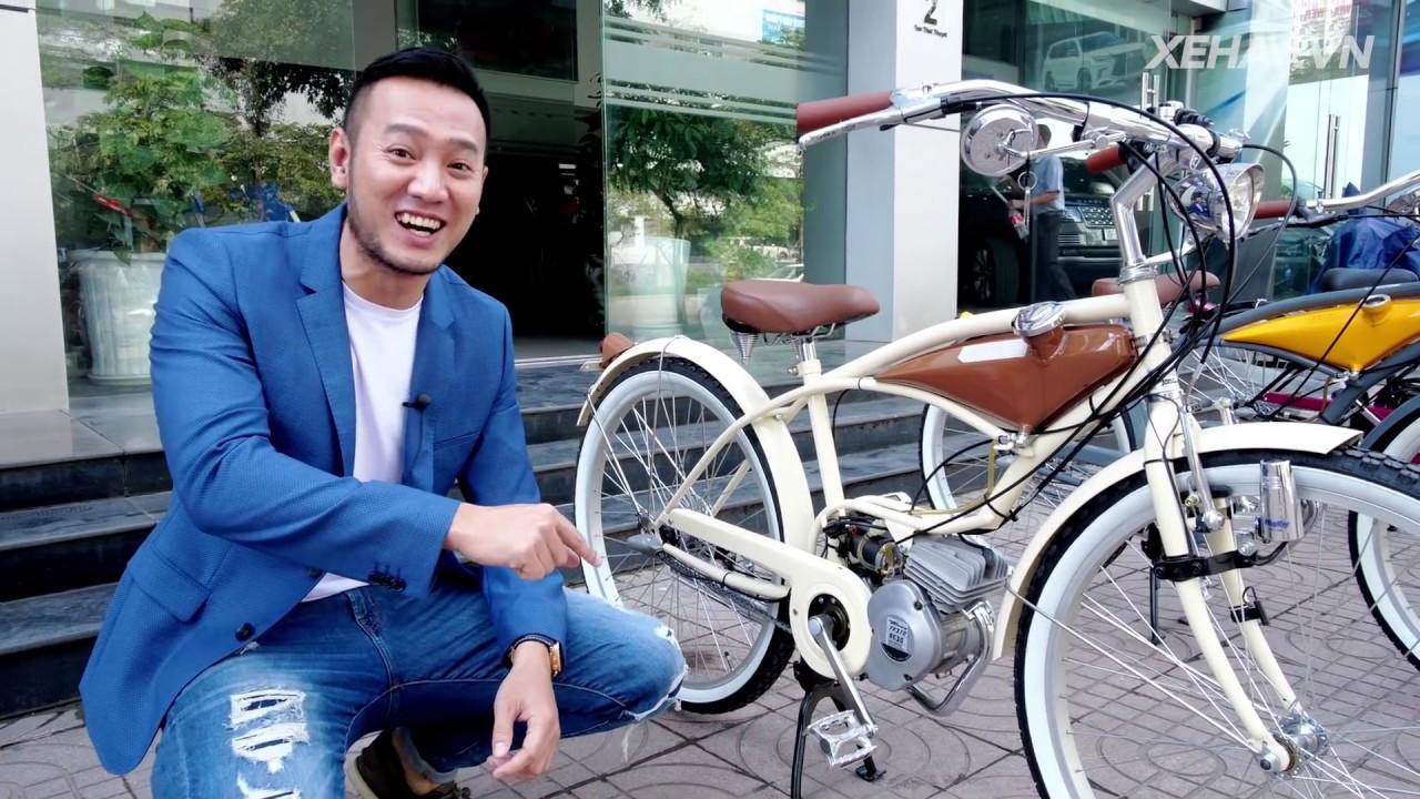 60 triệu cho chiếc xe đạp gắn động cơ 2 thì siêu nhỏ nhập khẩu nguyên chiếc Nhật bản |XEHAY.VN|