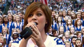 Watch Kelly Clarkson Star Spangled Banner video