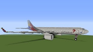 Minecraft: Airbus A330-300 Asiana Airlines