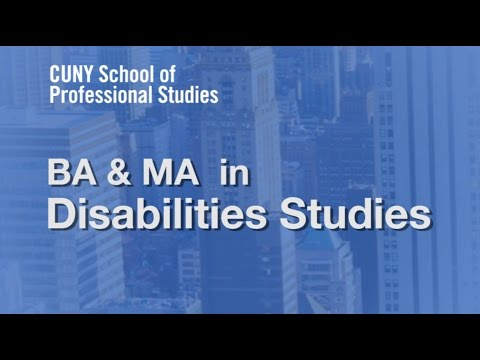 Online Information Session BA MA Disabilities Studies