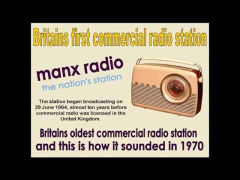 The sound of Manx Radio in 1971