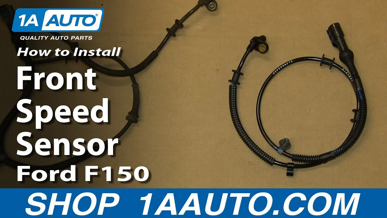 New Ford Explorer >> How To Replace Front ABS Sensor Harness 04-08 Ford F150 ...