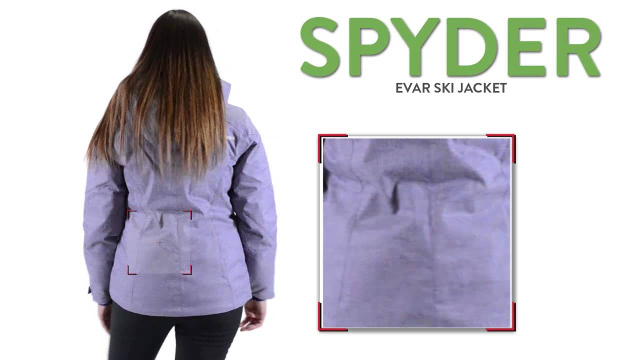 Spyder Evar Ski Jacket - Insulated (For Women) - YouTube 5711c1902