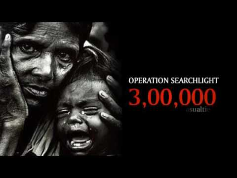 Operation Searchlight - Bangladesh Genocide in March 1971