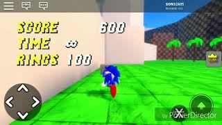 Sonic roblox blast gameplay