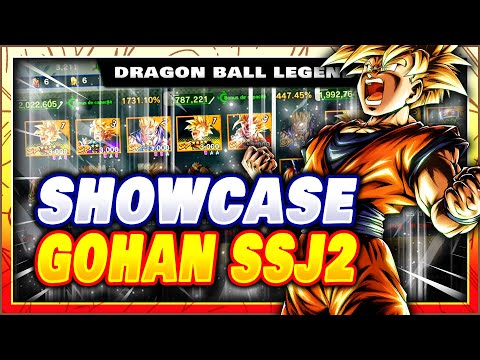 SHOWCASE GOHAN SSJ2 4 ETOILES ! JUSTE TROP FORT ? BONUS EN INVOCATION ! DRAGON BALL LEGENDS FR