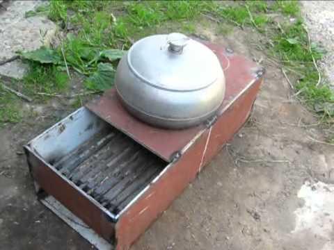 Печь РАКЕТА 2 (железная)+приготовление еды