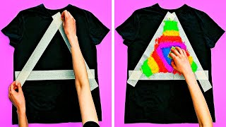 27 EASY YET COOL DIY T-SHIRT DECORATIONS