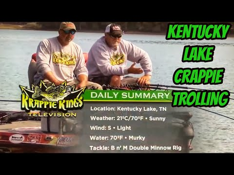 Big crappies on brushpiles on Kentucky Lake- S2 eps 10 Krappie Kings