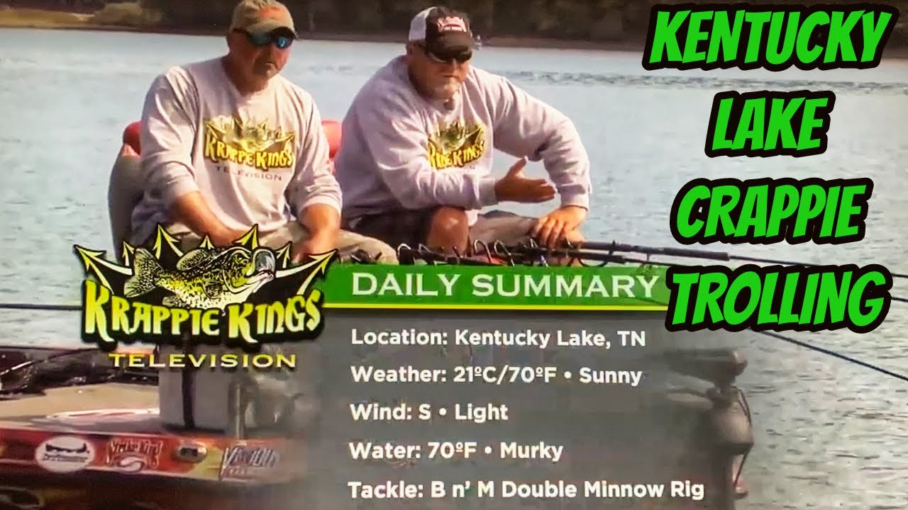 Big crappies on brushpiles on kentucky lake s2 eps 10 for Kentucky lake crappie fishing report