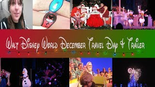 Travel Day And Vacation Preview Trailer || DECEMBER 2017 WALT DISNEY WORLD TRIP