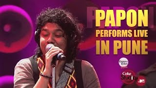 Papon and Coke Studio Pune Live Concert @ FLAME University, Lavale