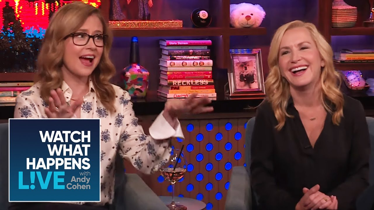 Angela Kinsey Nude jenna fischer and angela kinsey's 'office' predictions