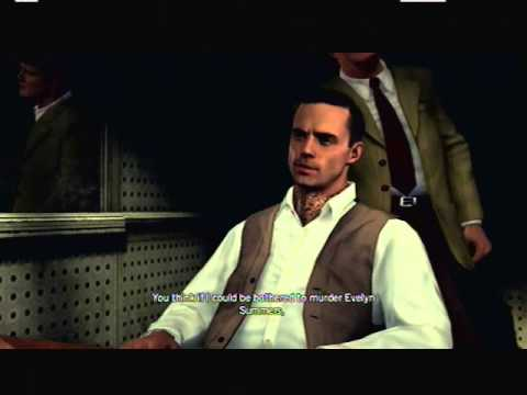 Let's Play L.A. Noire Part 25 Who's It Gonna Be James Tiernan Or Grosvenor McCaffrey