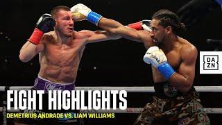 HIGHLIGHTS | Demetrius Andrade vs. Liam Williams