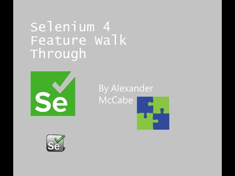 Selenium 4 Features Walkthrough