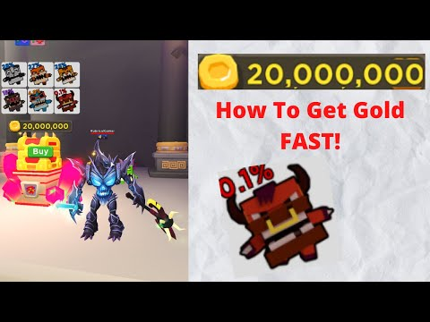 How To Get Gold FAST U0026 20 MILLION PET! (ROBLOX GIANT SIMULATOR)