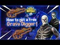 Fortnite Save The World - How to get the Grave Digger for Free!